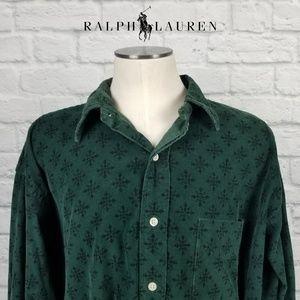 Ralph Lauren Polo Lowell Sport Corduroy Shirt XL